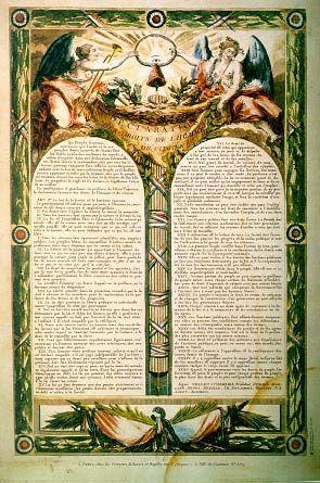 1789 Declaration Des Droits De L Homme Et Du Citoyen Human Right Declaration Droits De L Homme Revolution Francaise Histoire