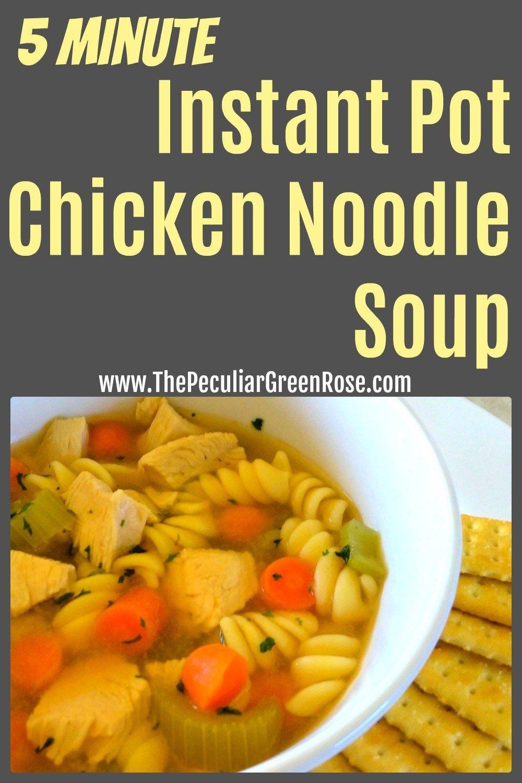 Instant Pot Chicken Noodle Soup images