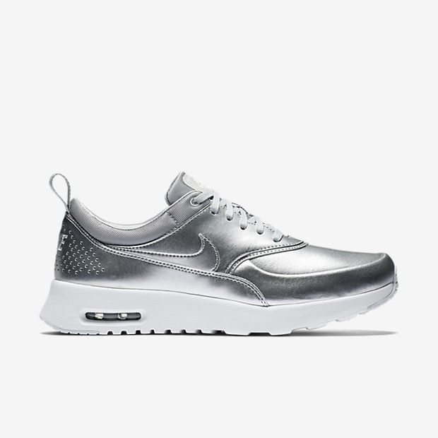 nike air max thea silber metallic