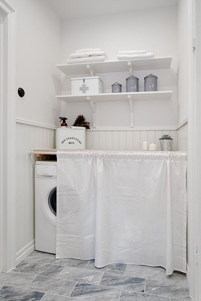 Inspiraci n para cuartos de lavado y plancha estilo - Cuarto de plancha ...