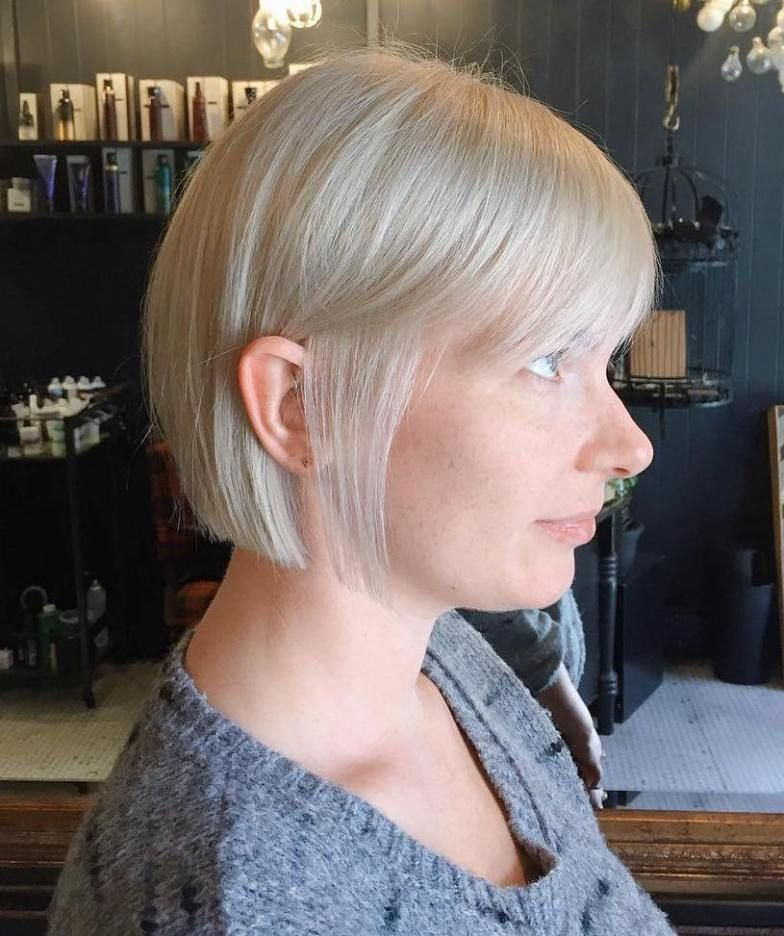 70 Winning Looks With Bob Haircuts For Fine Hair Blonde Bobs Fine