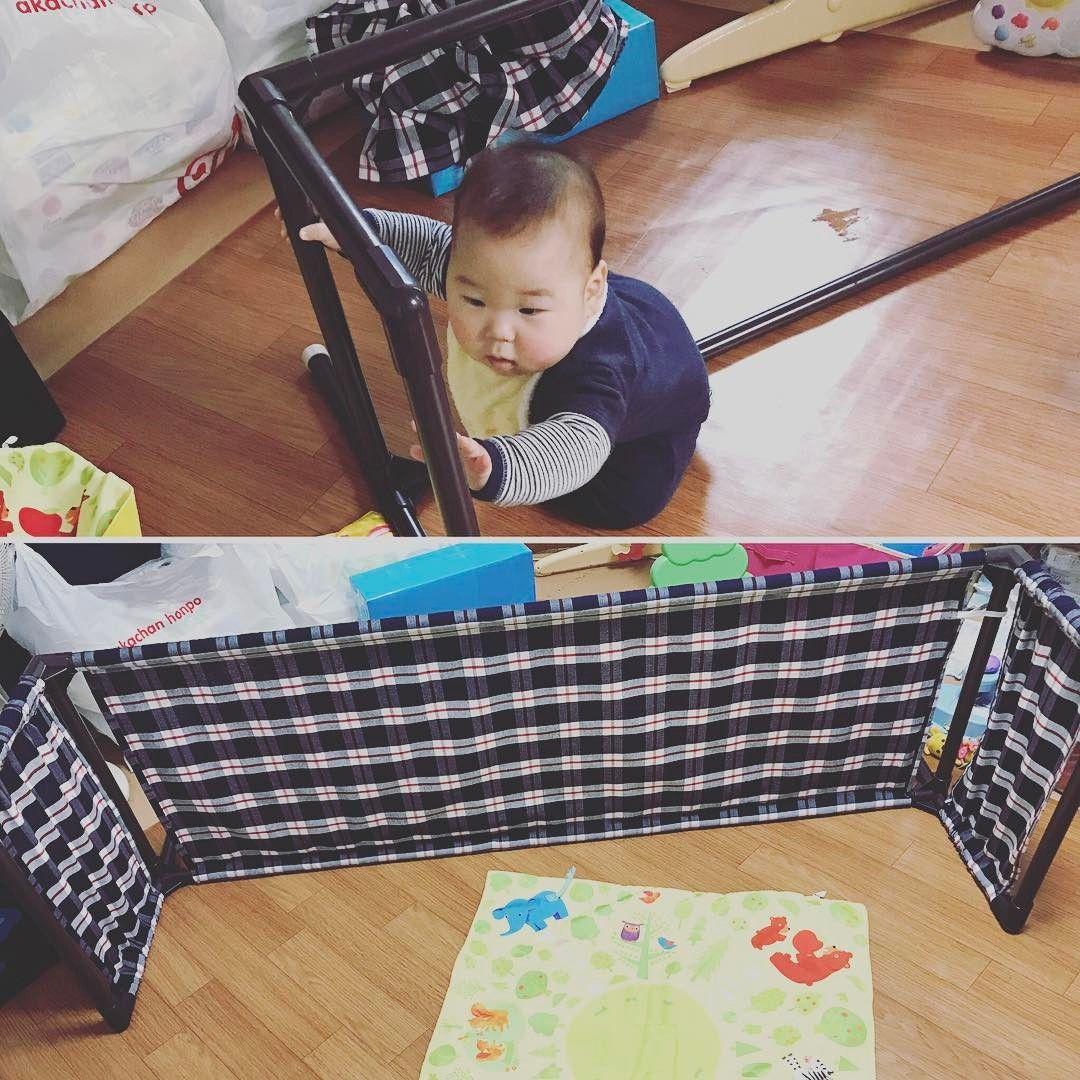 ベビーの安全対策に ベビーゲート ベビーフェンスのdiyをしてみよう ベビーゲート 赤ちゃんの安全 ベビーガード