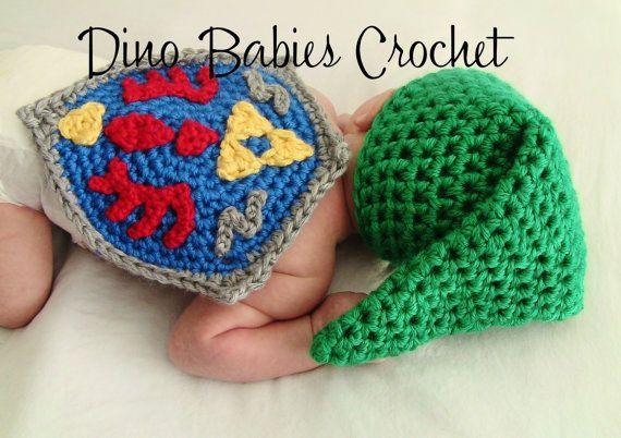 Link Newborn Hat Zelda Crochet beanie by Dinobabies on ...