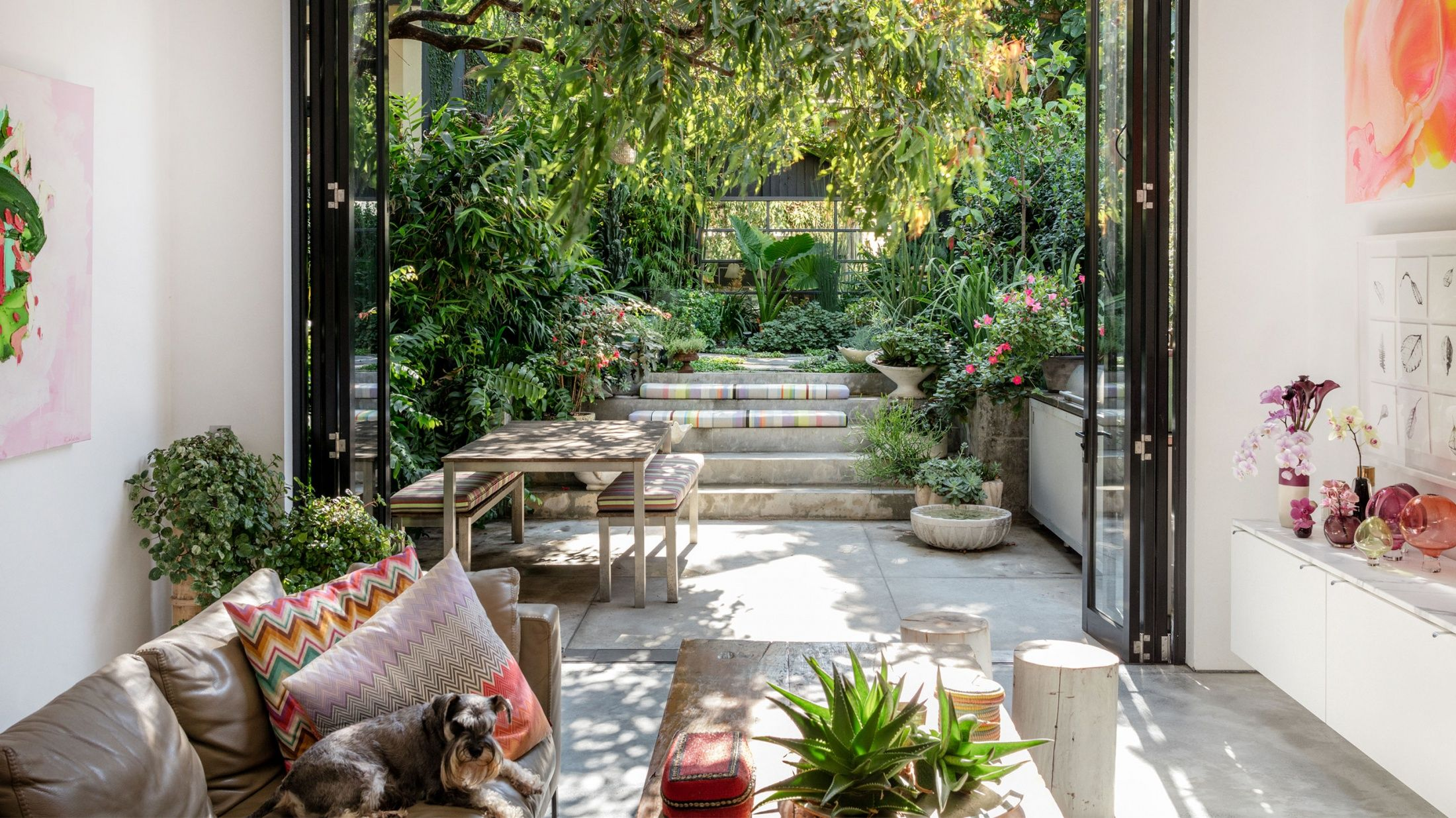 A Florist's Lush Inner City Garden | Sydney gardens ...