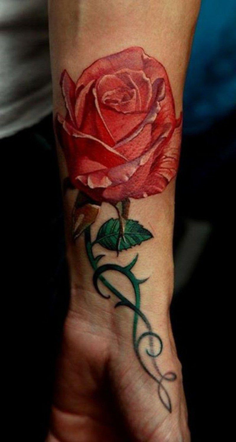 Tattoos Blumen und ihr Symbolik   Tattoo, Tattoo colors and Tattoo ...