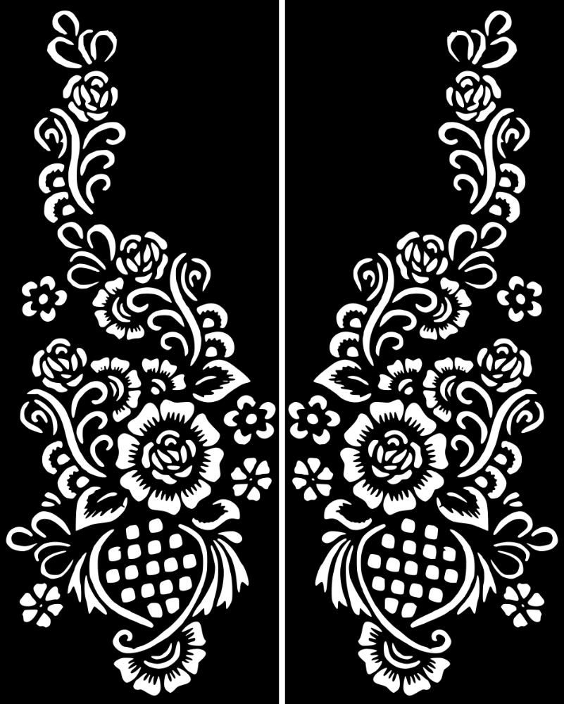Click On My User Name For More Henna Stencils How To Apply A