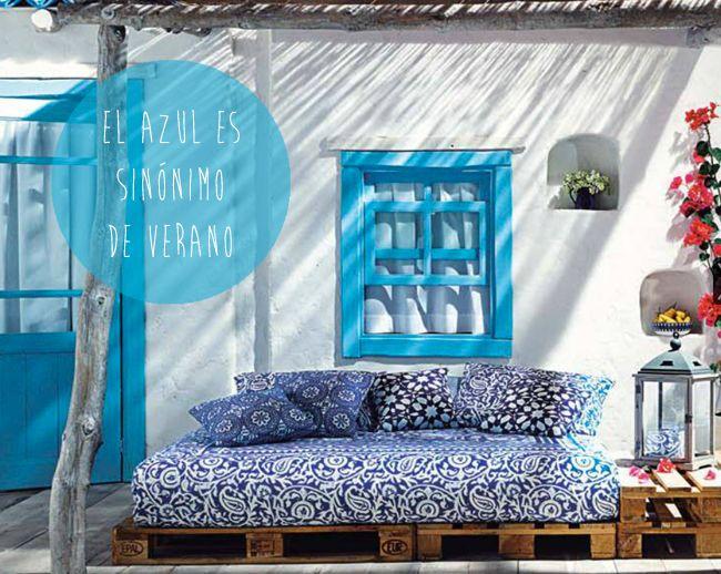 El verano se tiñe de azul | Blog » En miCasa o en la tuya...