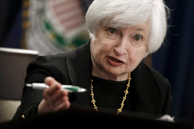 Federal Reserve Chair Janet Yellen And Her Colleagues On Wednesday Federal Reserve Chair Janet Yellen And Her Coll Interest Rates Economic Times Central Bank
