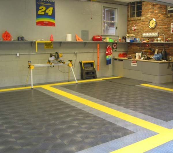 Cheap garage floor tiles products garage flooring for Garage floor ideas cheap
