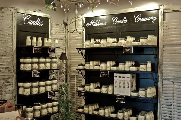 Creating Character Candle Store Display Candle Shop