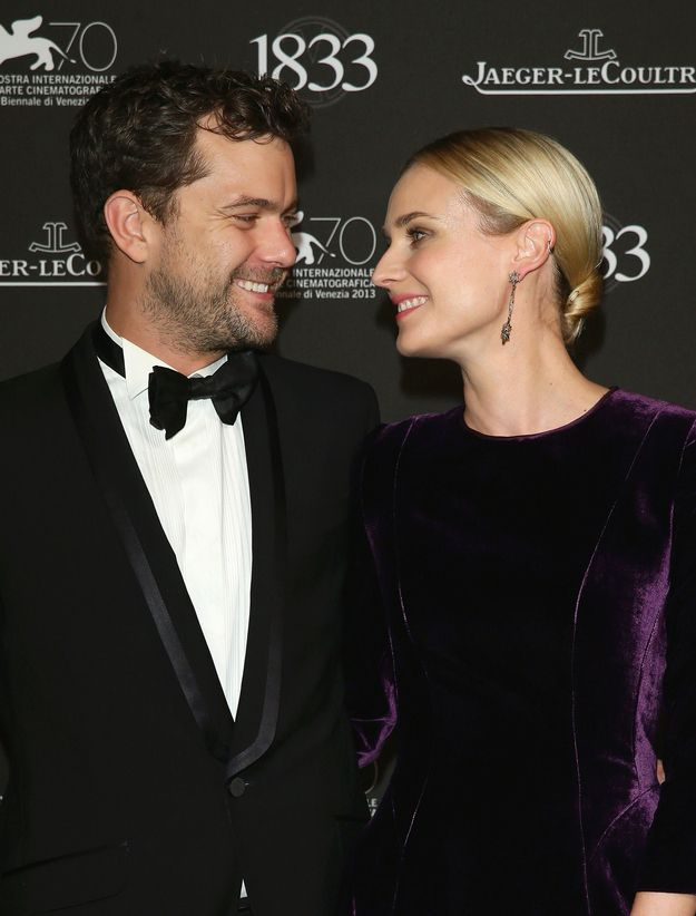 Also Their Love For Each Other Is Adorable Diane Kruger Cute Couples Diane Kruger Joshua Jackson