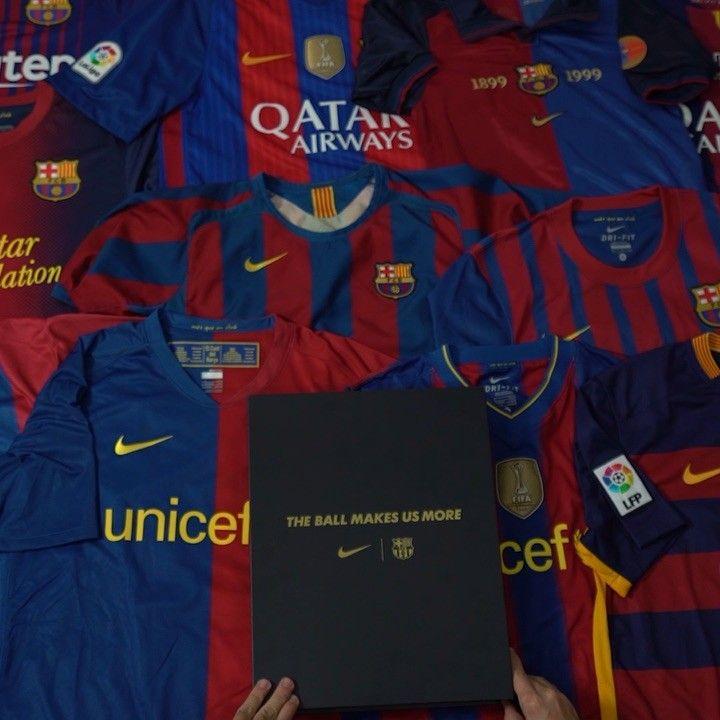 20 años • 20 camisetas 🔴🔵   nikefootball presenta una camiseta única 0c550f3452d