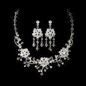 Stunning Swarovski Crystal Jewelry Set NE 6522 * Gold Only