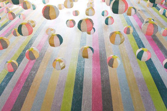 circles and stripes illustration