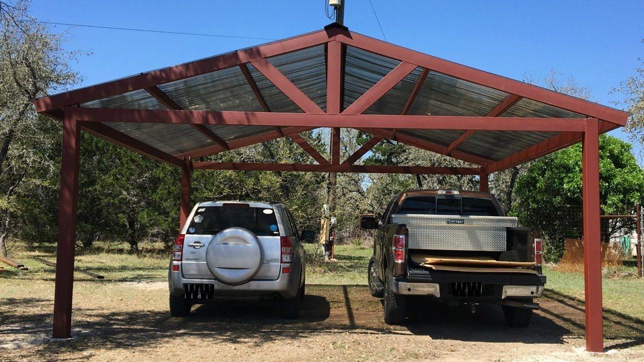 Nature of a metal carport Metal carports, Carport