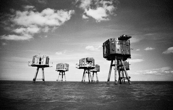 During the Second World War, the British Royal Navy constructed a series of sea forts for an advanced line of defense against inbound air raids and potential sea invasions from the Axis powers.  The Maunsell Sea Forts still stand today, silent and abandoned a few meters above the North Sea.  One, however, remains inhabited, now a nation of its own referred to as the Principality of Sealand.  Can't wait to photograph these!