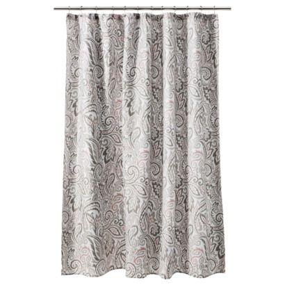 ThresholdTM Paisley Shower Curtain