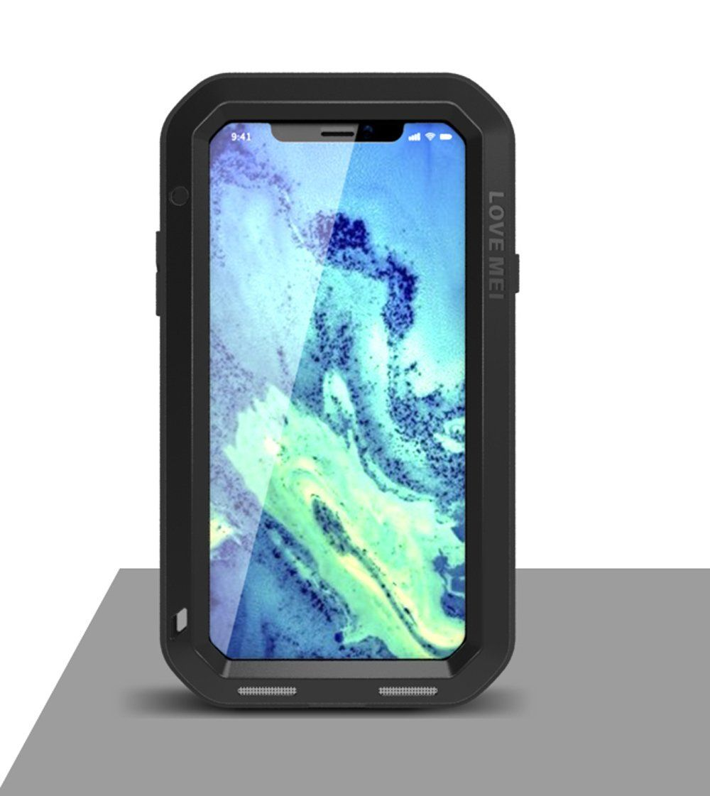 huge discount 7a8fc 76095 iPhone X Case,Mangix Love Mei Water Resistant Shockproof Aluminum ...