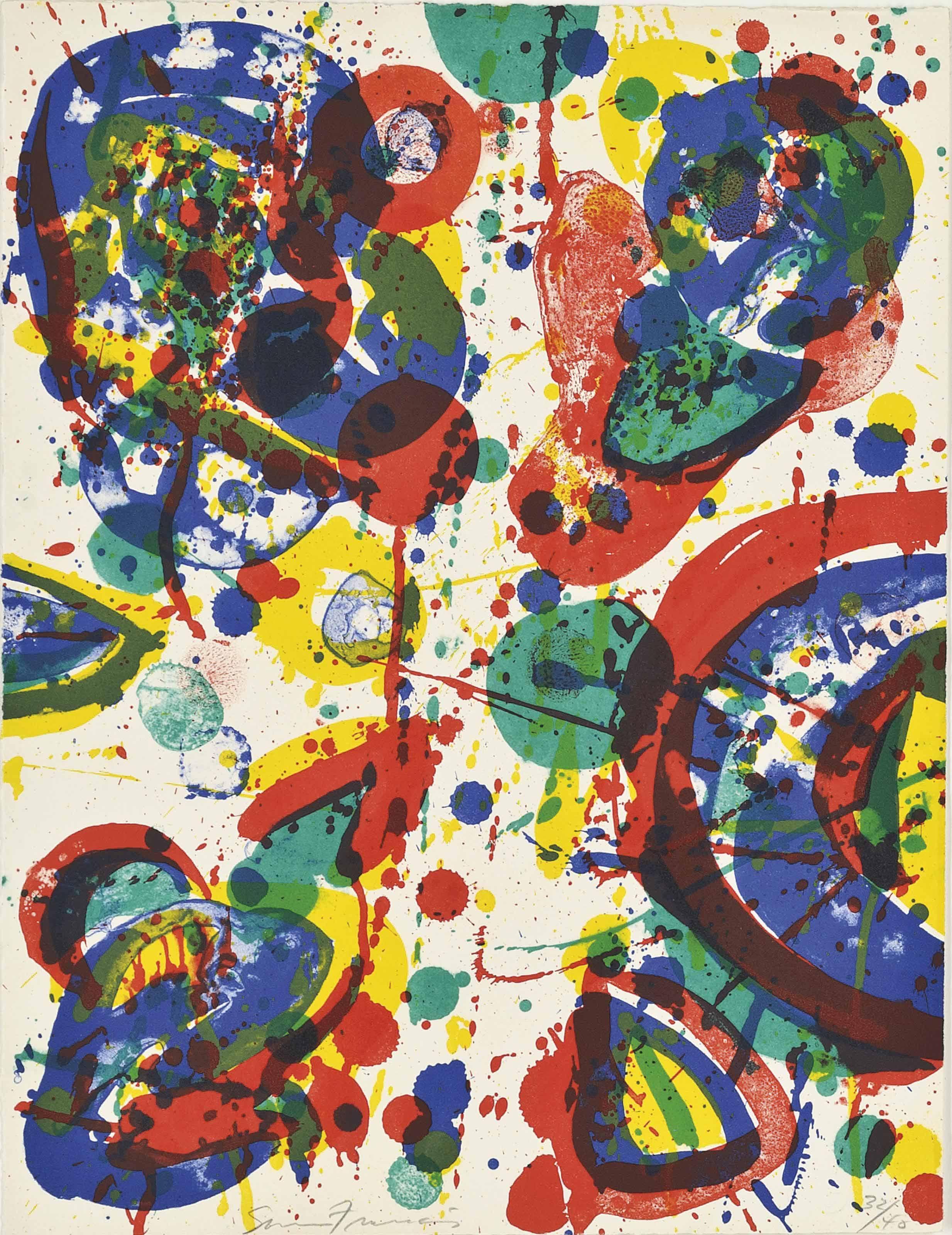 Sam Francis (1923 1994) - Firework (Lembark 41) - Prints &