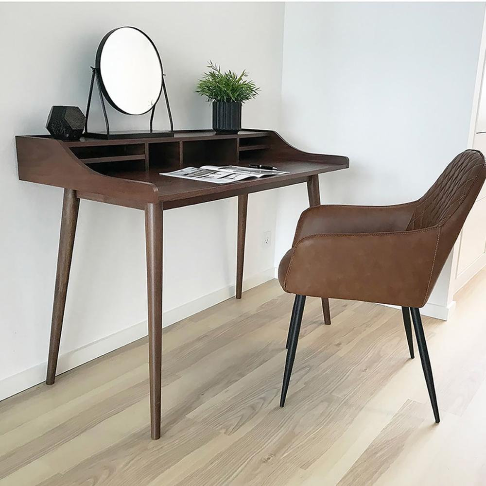 Bureau Vadum Noyer House Nordic Table Basse Chaise Art Deco Bureau
