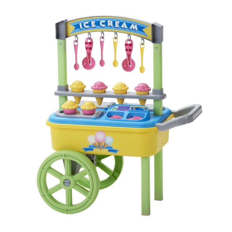 American plastic toys my very own ice cream cart ice