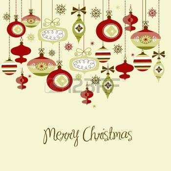 Retro Christmas Ornaments Retro Christmas Christmas Ornaments Christmas