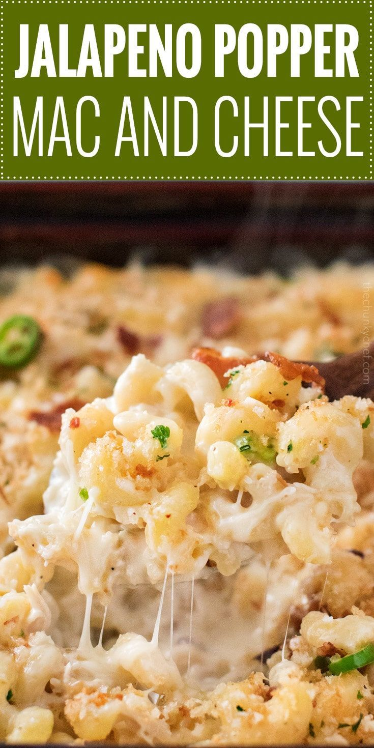 Baked Jalapeno Popper Mac And Cheese Recipe Greatest Food