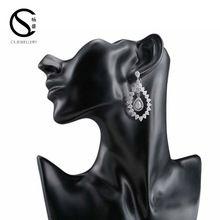 Earrings, Earrings direct from Guangzhou Chang Sheng Jewelry Firm (Brass Jewelry) in China (Mainland)