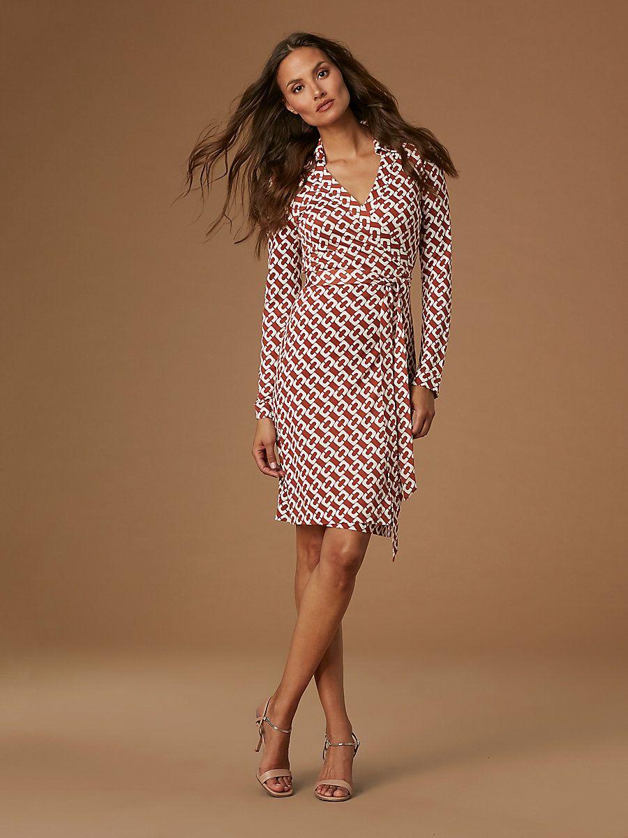 eca3e828da6 The DVF New Jeanne Two Silk Jersey Wrap Dress