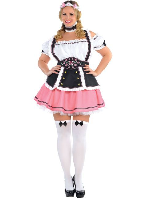 68f41bc129 Adult Oktobermiss Beer Maid Costume Plus Size - Party City