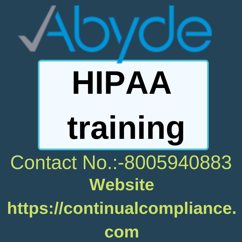 HIPAA trainingAbyde Hipaa training, Hipaa, Hipaa compliance