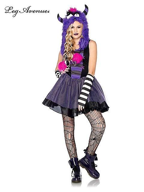 Punky Monster Teenager Costume Halloween costumes Pinterest - halloween teen costume ideas