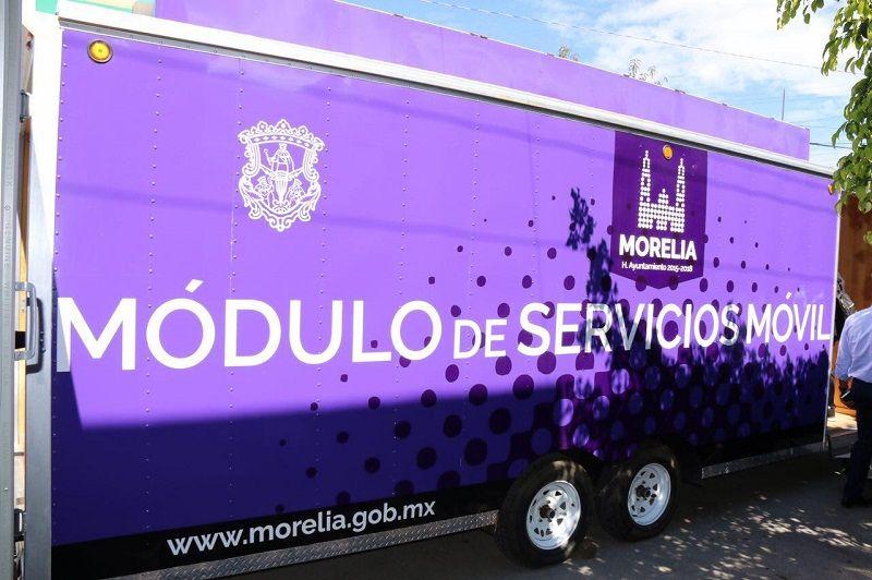 Tesorería De Morelia Lleva Su Módulo Móvil Al