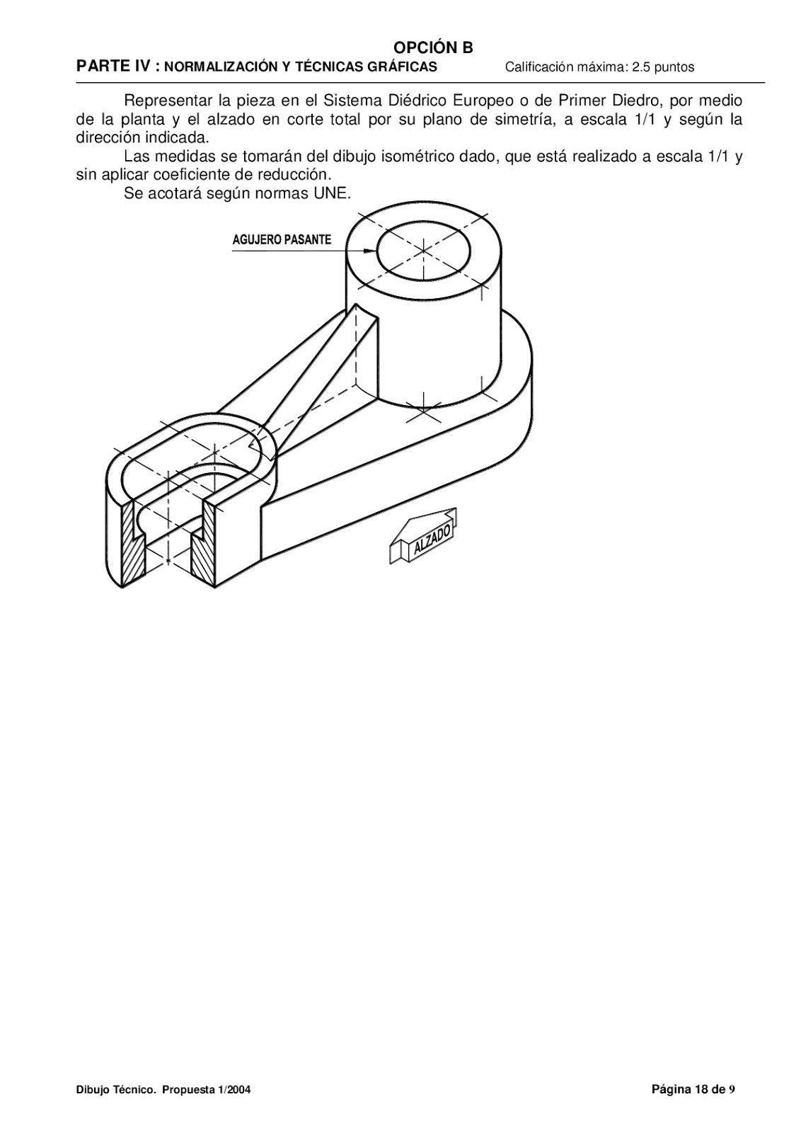 Examenes De Evaluacion Bachillerato Dibujo Tecnico Para El Acceso A La Universidad E Tecnicas De Dibujo Dibujo Tecnico Bachillerato Dibujo Tecnico Ejercicios