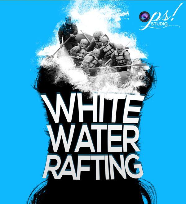 Poster Rafting White Water Rafting Rafting Water