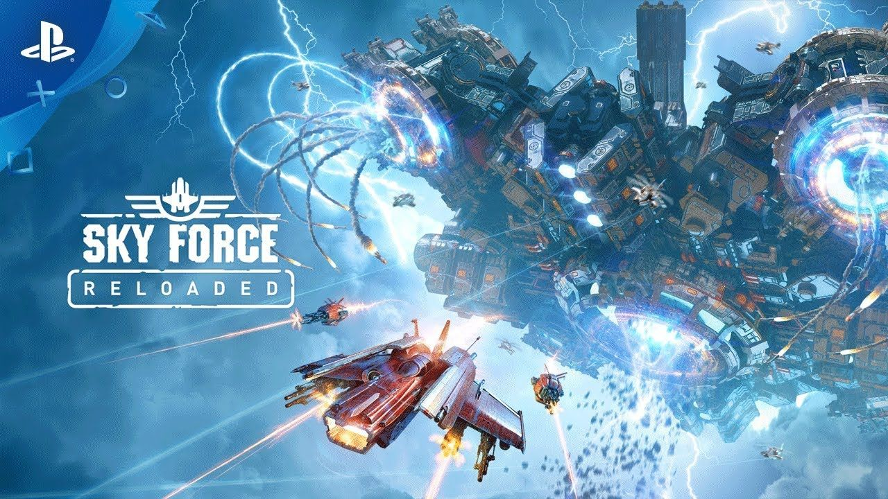 [Video] Sky Force Reloaded announced for PS4.