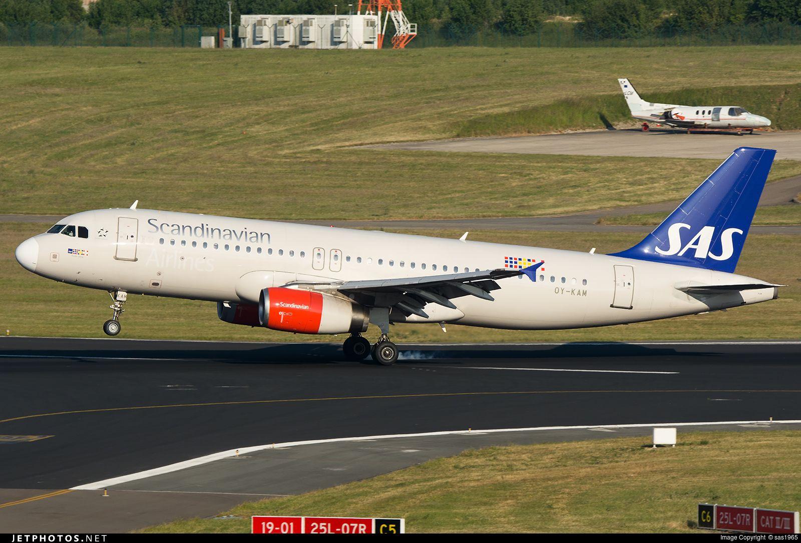 Photo Oy Kam Cn 2911 Scandinavian Airlines Sas Airbus A320 232 By Sas1965 Airbus Scandinavian Sas