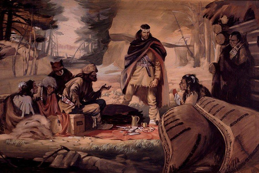 Coureur Des Bois Alcool - Voyageurs and Coureur des Bois British north america and Native americans