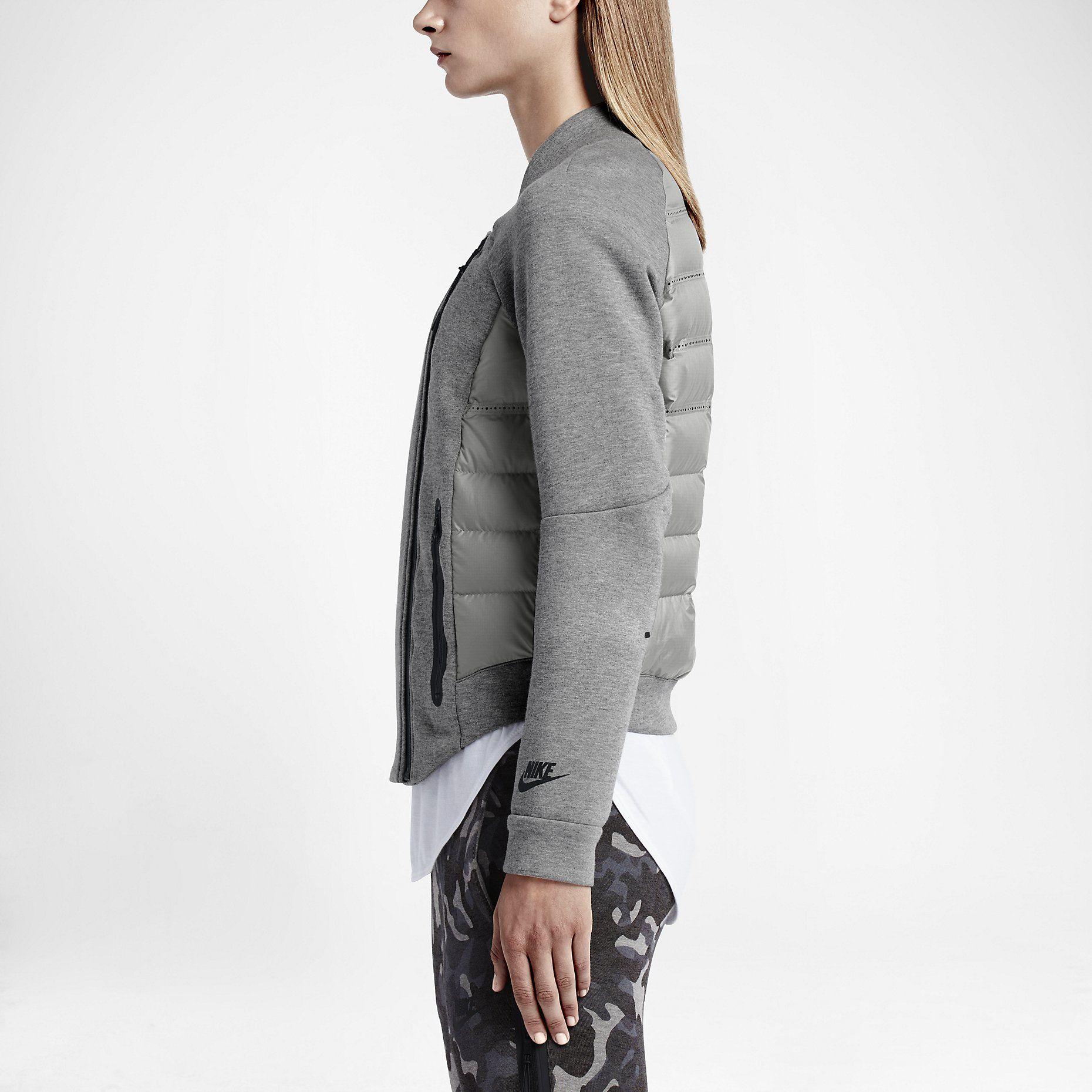 Nike Tech Fleece Aeroloft Moto Women's Jacket. di