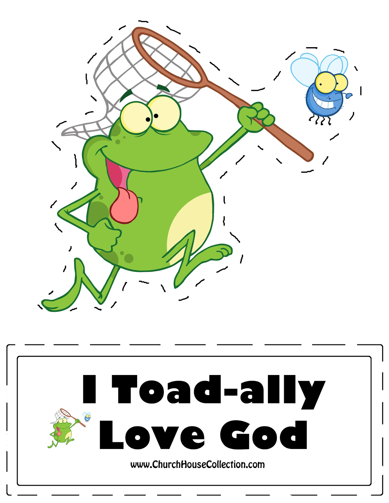 Free Printable Template FROG Cutout Craft \