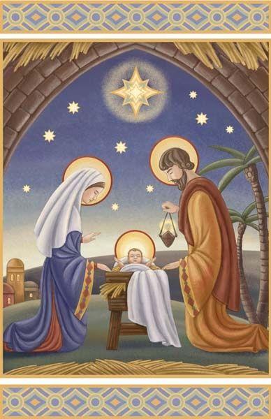 Christmas Clip Art North Star.Irina Y Lombardo North Star Nativity 388x600 The