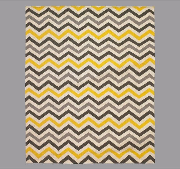 Dwell Studio Zig Zag Citrine Rug 650 00 For 8x10 There Must Be A Er Option