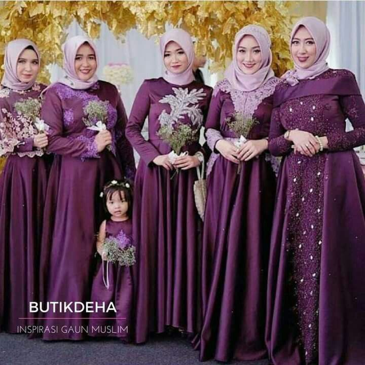 Bridesmaid | kebaya | Pinterest | Kebaya, Models and Niqab