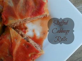 Ally's Sweet and Savory Eats: Stuffed Cabbage Rolls