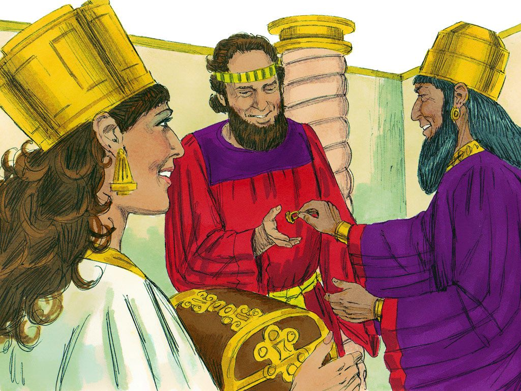 Chapter 8: That day the King gave Esther Haman's estate ...