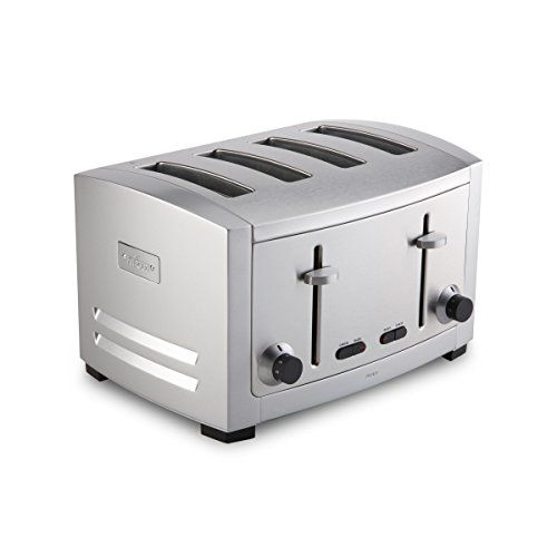 Allclad Tj804d Stainless Steel 4slot Toaster With 6 Browning