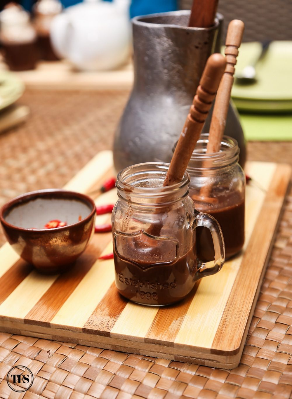 Hot Tablea Chocolate Drink