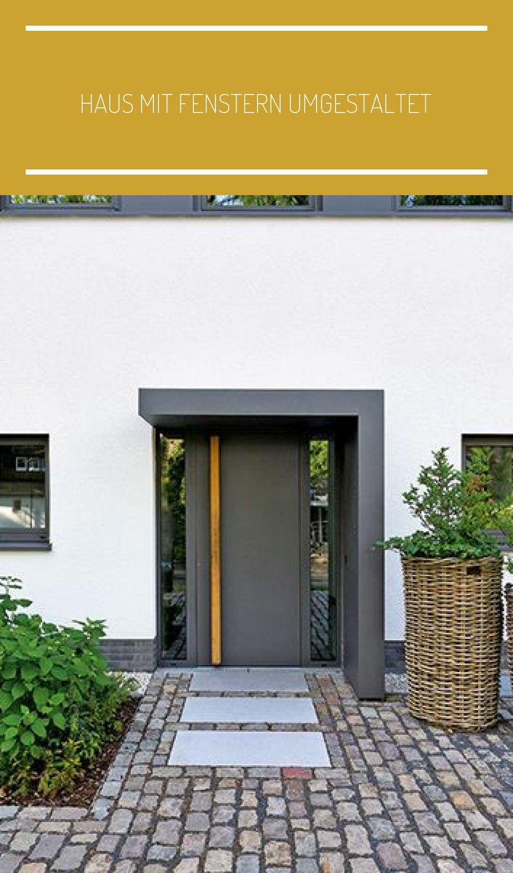 Photo of Hauseingang | Haus mit Fenstern umgestaltet | renovieren.de #eing