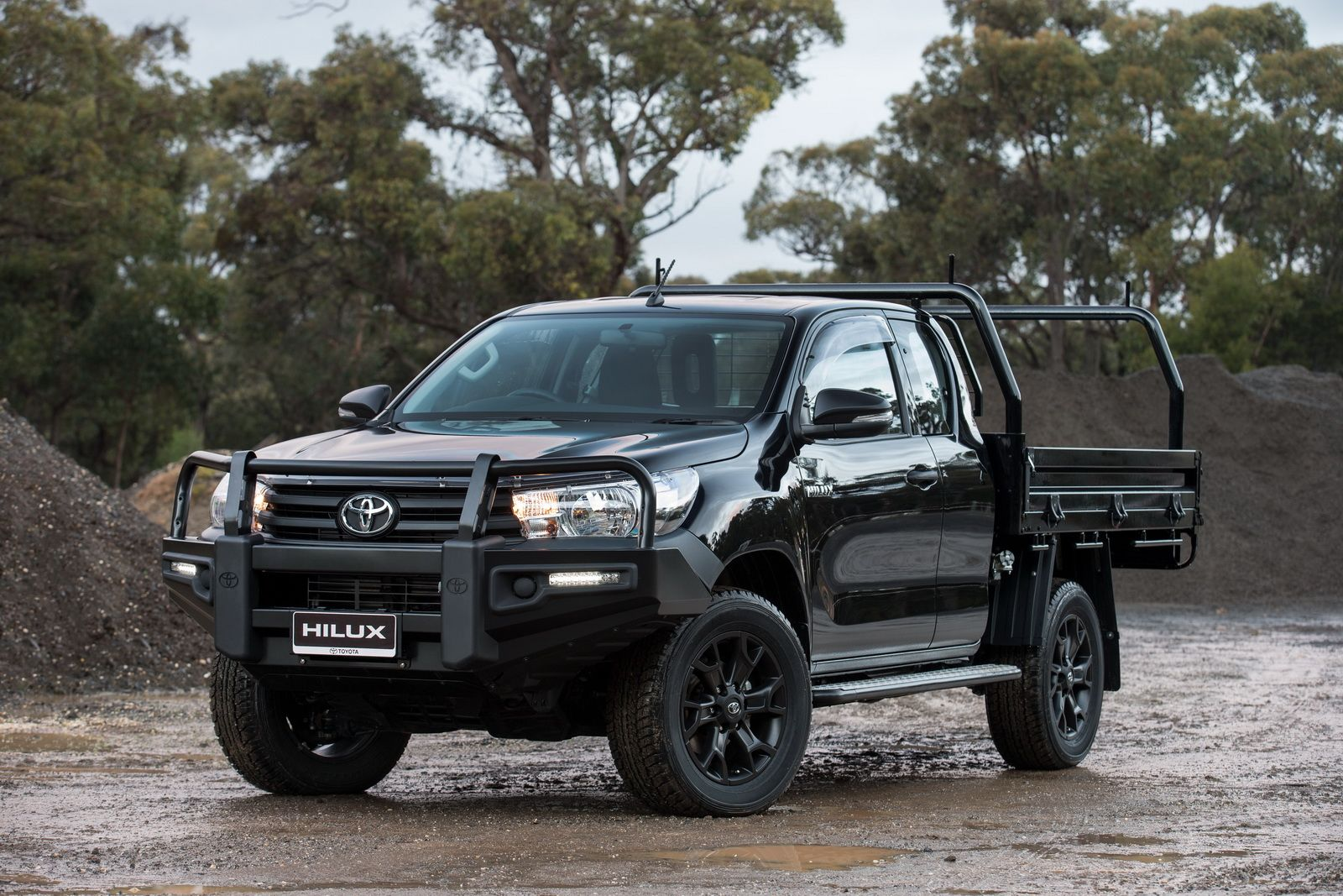 new toyota hilux receives a plethora of rugged accessories to make