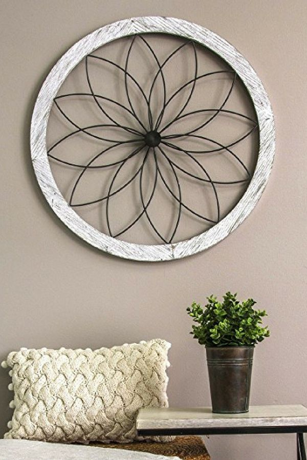 Round Metal Wall Art Decor, Round Wall Decor Ideas